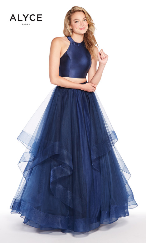 60210 (Navy) gown from the 2018 Alyce Paris collection, as seen on dressfinder.ca