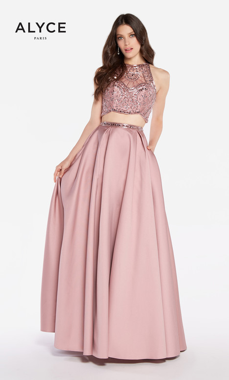 60220 (English Rose) gown from the 2018 Alyce Paris collection, as seen on dressfinder.ca