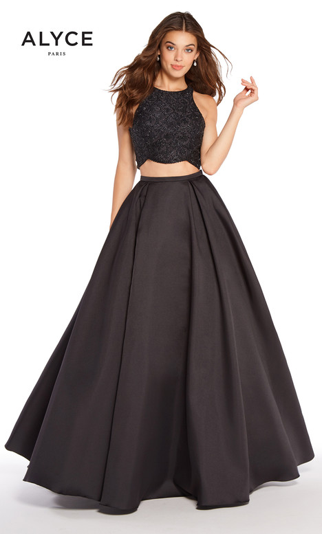 60222 (Black) gown from the 2018 Alyce Paris collection, as seen on dressfinder.ca
