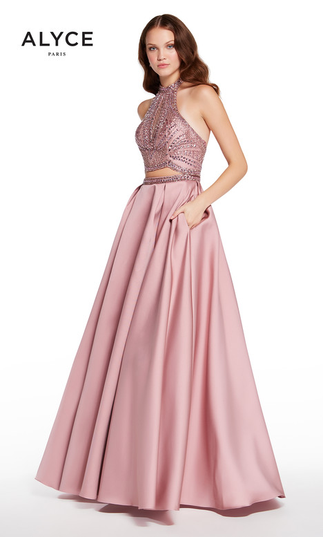 60223 (English Rose) gown from the 2018 Alyce Paris collection, as seen on dressfinder.ca