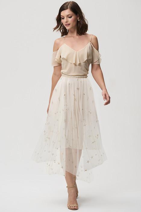 Astrid (skirt) (Champagne) Bridesmaids                                      dress by Jenny Yoo Bridesmaids