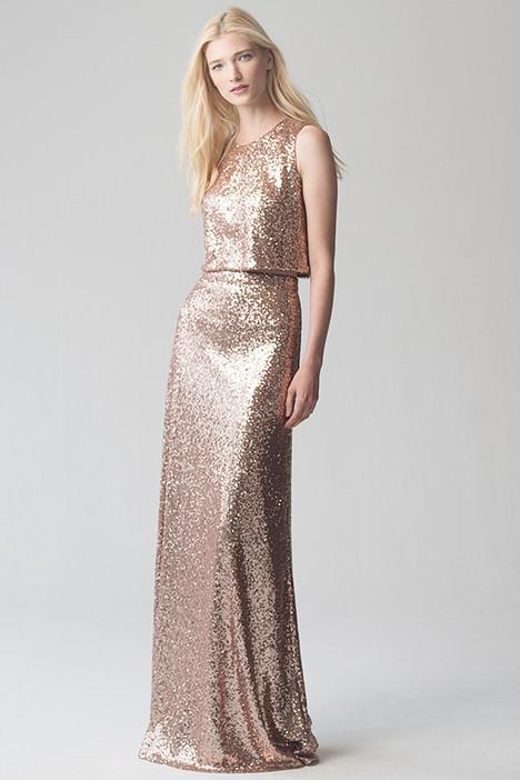 Camri(top) + Lexi(skirt) (Rose Gold) Bridesmaids                                      dress by Jenny Yoo Bridesmaids