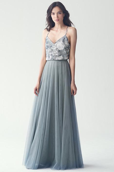 Emerson (top) + Winslow(skirt)(Blue) Bridesmaids                                      dress by Jenny Yoo Bridesmaids