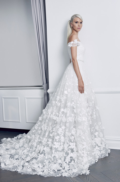 RK8487 Wedding                                          dress by Romona Keveza Collection