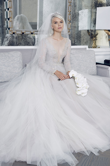 RK8489 Wedding                                          dress by Romona Keveza Collection