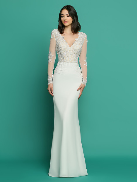 F7057AL Wedding                                          dress by Informals by DaVinci