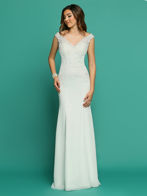 F7060AL Wedding                                          dress by Informals by DaVinci