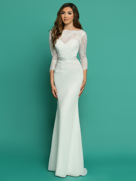 F7061AL Wedding                                          dress by Informals by DaVinci