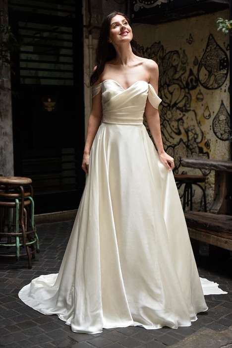 Aspen Wedding                                          dress by Augusta Jones
