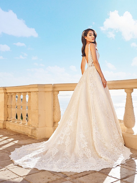 Belle (Back) Wedding                                          dress by Val Stefani