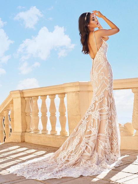 Ciara (Back) Wedding dress by Val Stefani