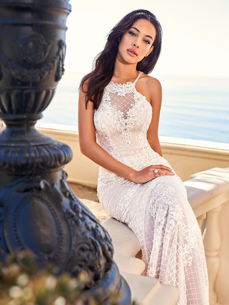 Gia Wedding                                          dress by Val Stefani