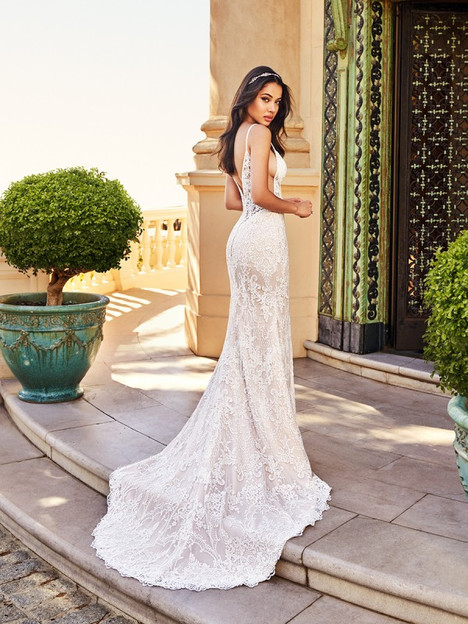Santorini James (Back) Wedding                                          dress by Val Stefani
