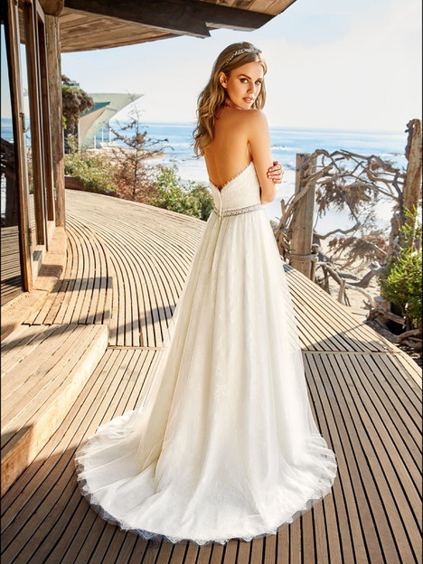 Bay (Back) Wedding                                          dress by Simply Val Stefani