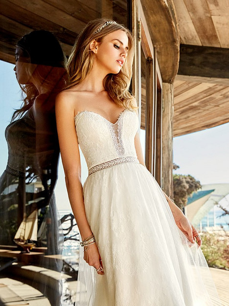 Bay Wedding                                          dress by Simply Val Stefani