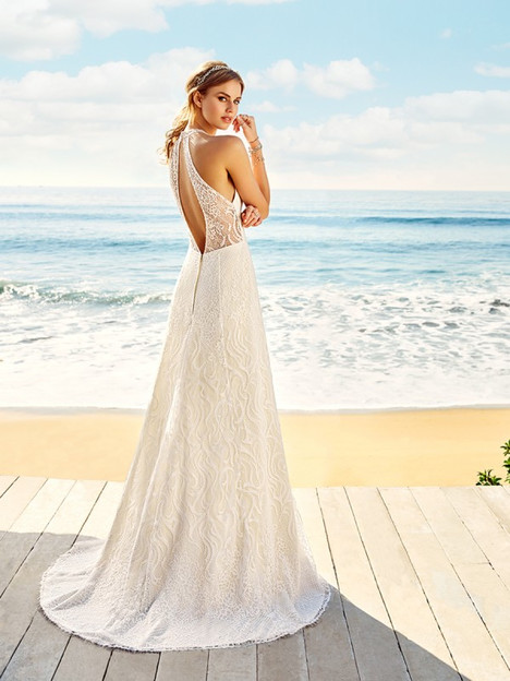 Malibu (Back) Wedding                                          dress by Simply Val Stefani