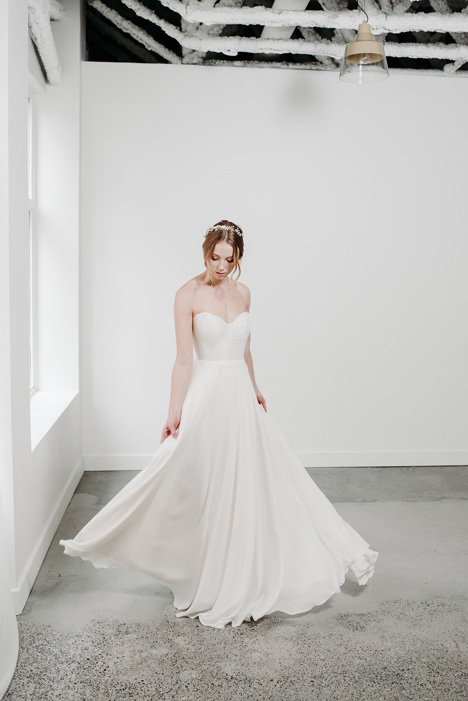 Kelsey Wedding                                          dress by Pure Magnolia
