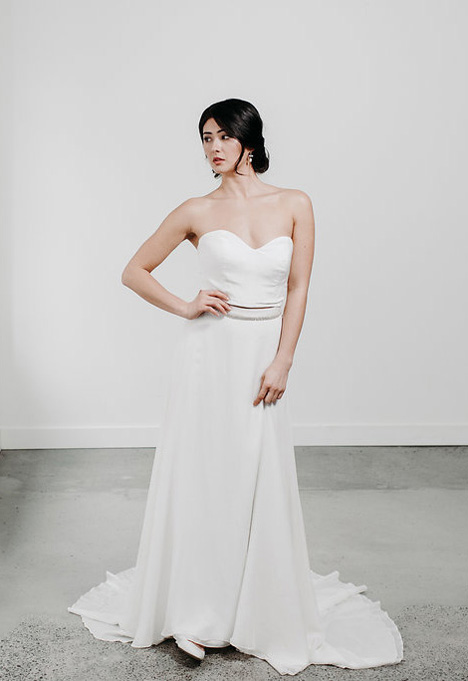 Hannah (Top) Wedding                                          dress by Pure Magnolia