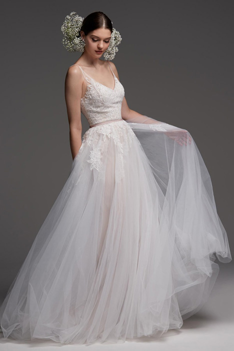 Avignon Wedding                                          dress by Watters Brides