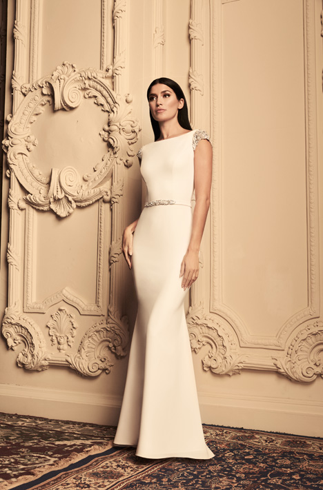 4807 Wedding                                          dress by Paloma Blanca