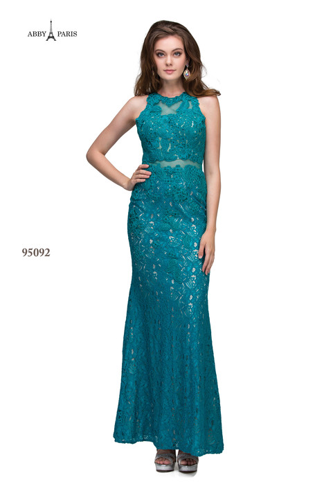 95092-Jade Prom                                             dress by Abby Paris