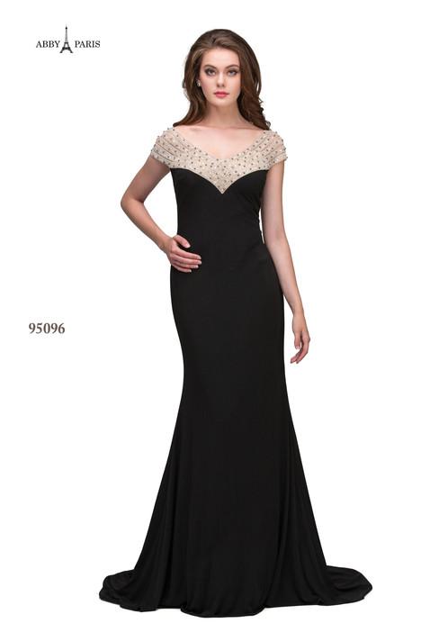 95096-Black Prom                                             dress by Abby Paris