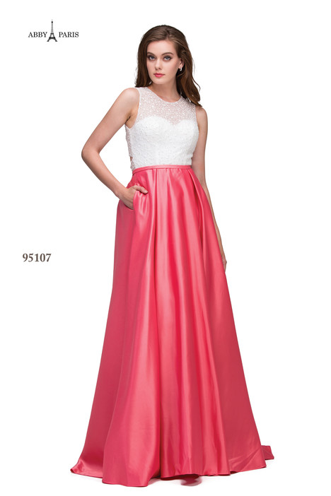 95107-1 Prom                                             dress by Abby Paris