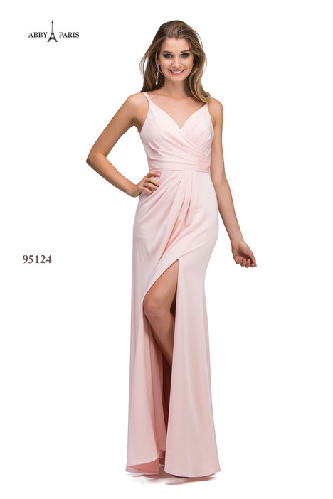 95124-Blush Prom dress by Abby Paris