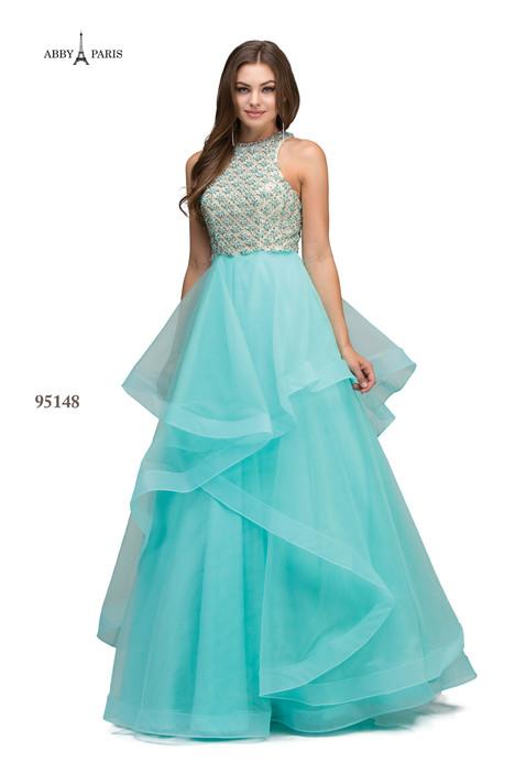 95148-Aqua Prom                                             dress by Abby Paris