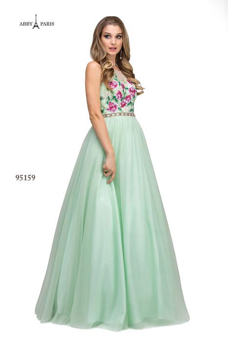 95159-Pistachio Prom dress by Abby Paris
