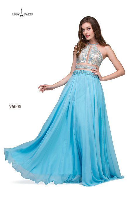 96008-Sky Blue Prom dress by Abby Paris