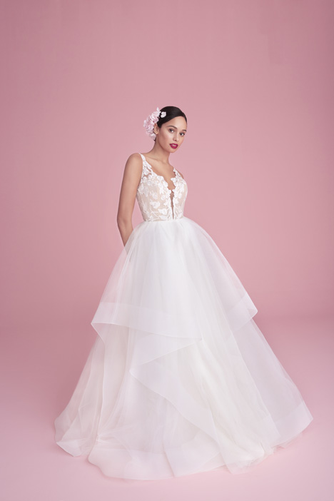 1855 Iris Wedding                                          dress by Blush by Hayley Paige