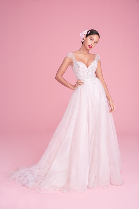 1861 Amour Wedding                                          dress by Blush by Hayley Paige