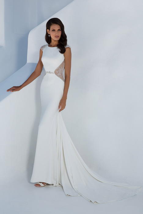 88002 Wedding                                          dress by Justin Alexander