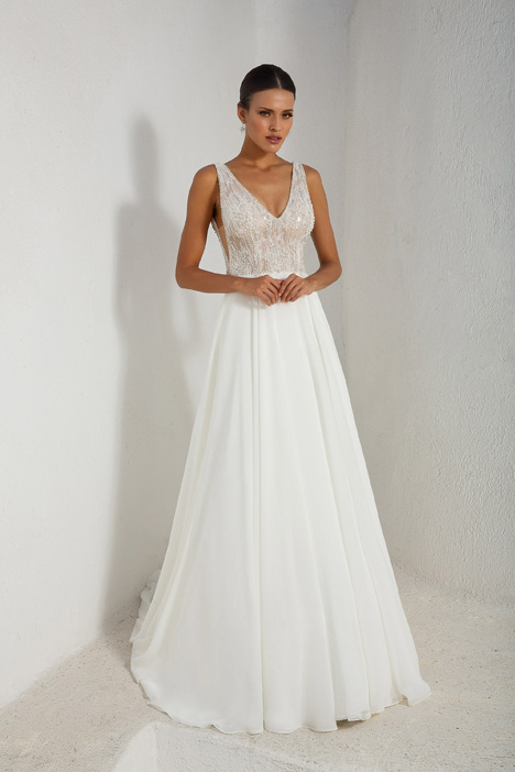 88003 Wedding                                          dress by Justin Alexander