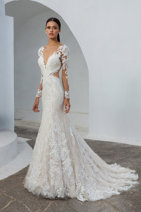 88010 Wedding                                          dress by Justin Alexander