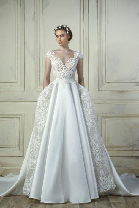 5205 Wedding                                          dress by Gemy Maalouf