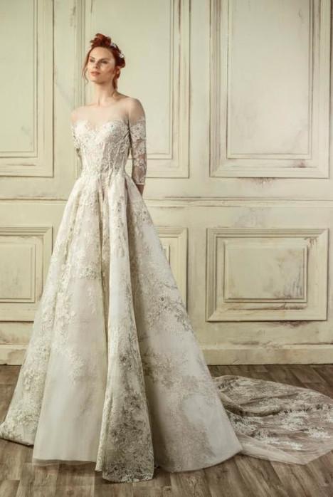 5228 Wedding dress by Gemy Maalouf