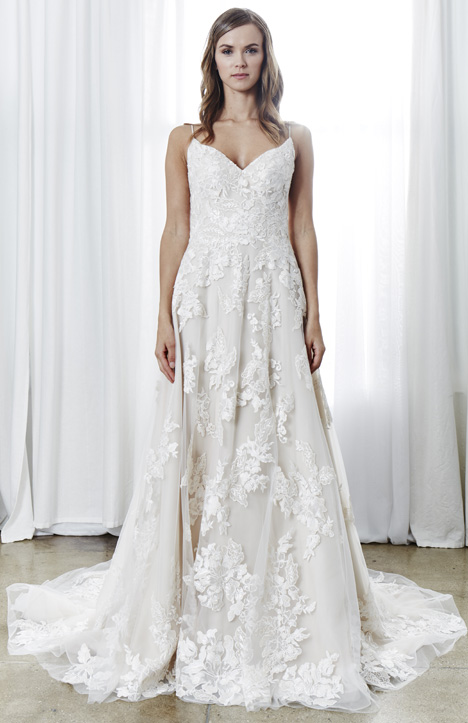 Alexia Wedding                                          dress by Kelly Faetanini