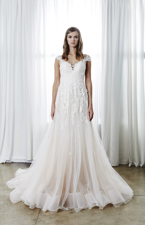 Audrey Wedding                                          dress by Kelly Faetanini