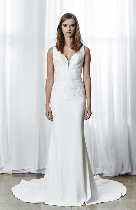 Lisette Wedding                                          dress by Kelly Faetanini