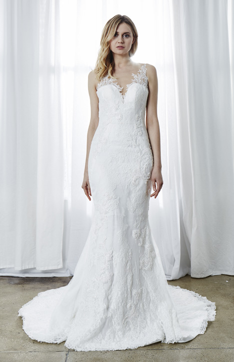 Nadine Wedding                                          dress by Kelly Faetanini