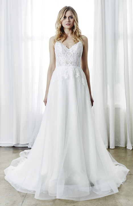 Nicolette Wedding                                          dress by Kelly Faetanini