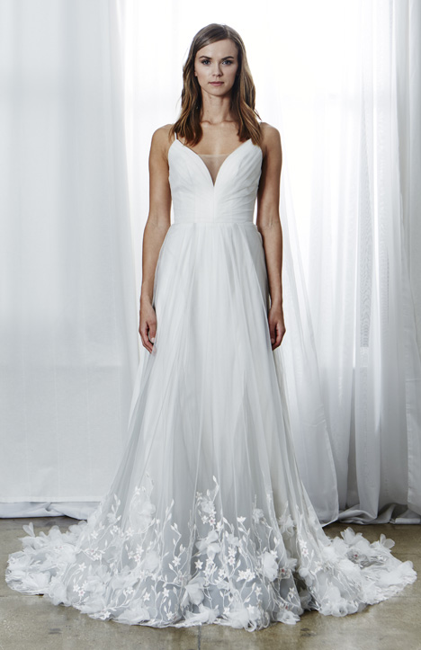 Penelope Wedding dress by Kelly Faetanini