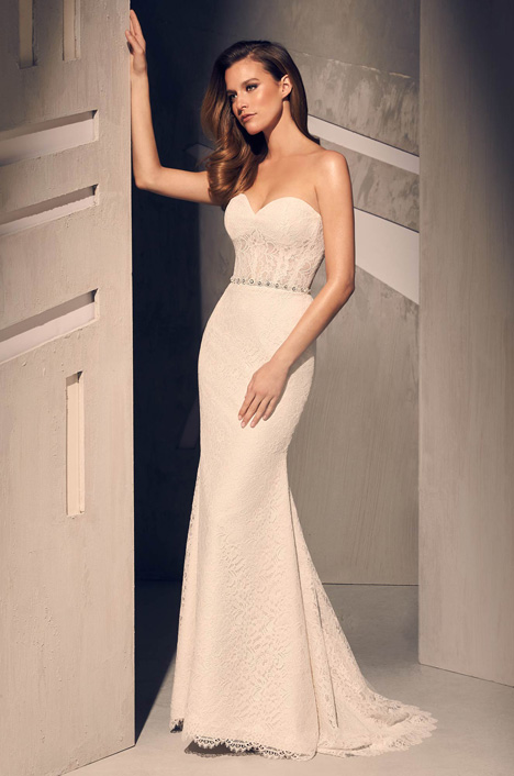 2209 Wedding                                          dress by Mikaella