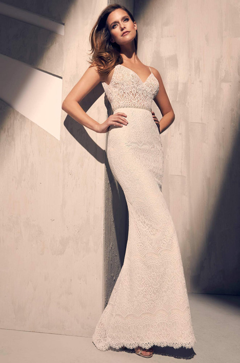 2215 Wedding                                          dress by Mikaella