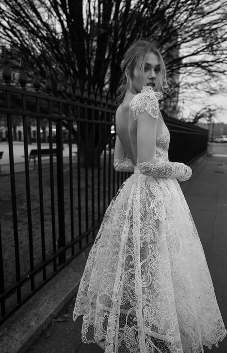 11 (Back) Wedding                                          dress by Inbal Dror