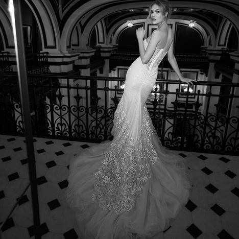 15 (Back) Wedding                                          dress by Inbal Dror