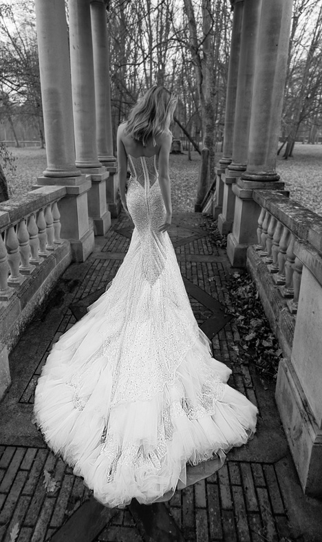 16 (Back) Wedding                                          dress by Inbal Dror