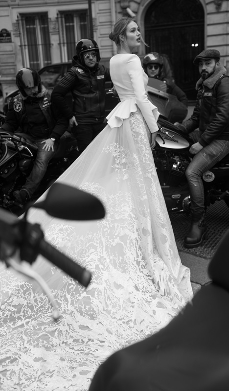 20 (Back) Wedding                                          dress by Inbal Dror